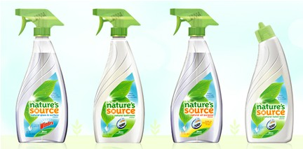 natures source cleaners