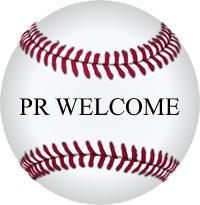 pr welcome baseball