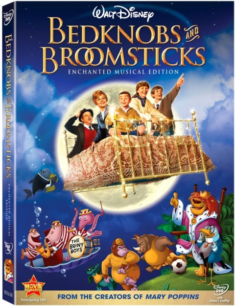 bedknobs and broomsticks echanted musical edition dvd