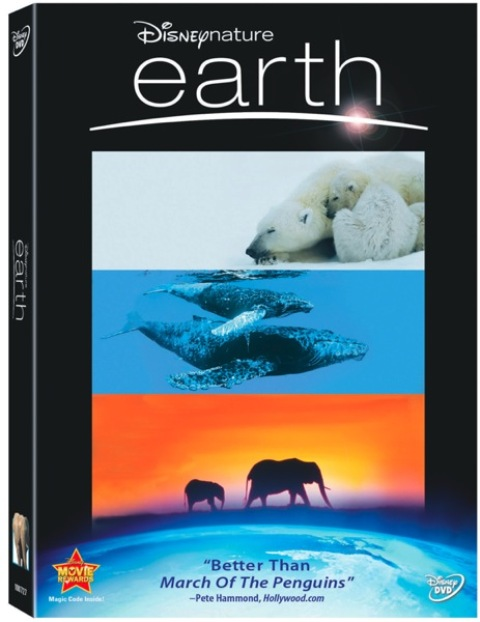 disney nature earth dvd cover