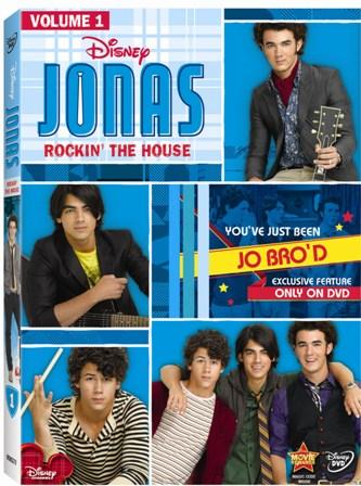 jonas volume one rockin the house dvd 1