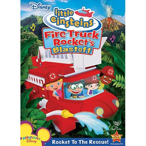 little einsteins firetruck rockets blastoff dvd cover