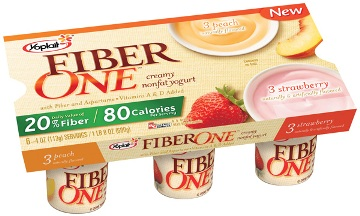 yoplait fiber one yogurt nutrition facts