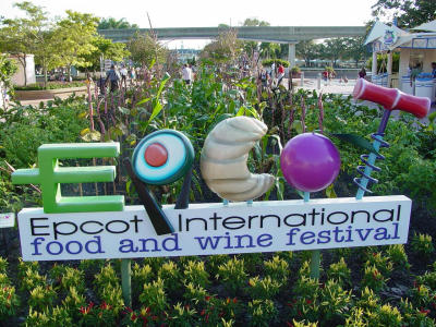 Epcot Food Wine Festival Sign