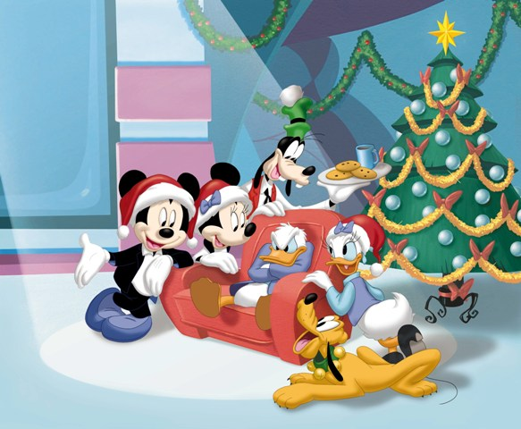 mickeys magical christmas group pic