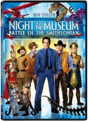 night at the museum smithsonian dvd cover