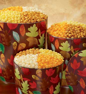 the popcorn factory falling leaves tin