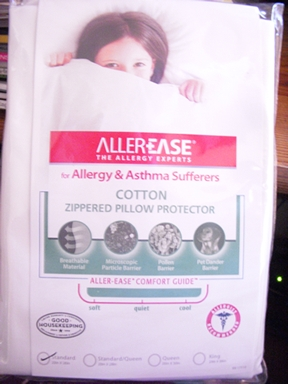allerease pillow cover