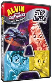 alvin and the chipmunks go to the movies star wreck dvd cover