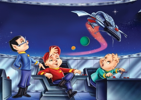 alvin and the chipmunks go to the movies star wreck pic