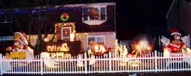 christmas 2008 house display