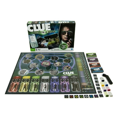 clue secrets and spies