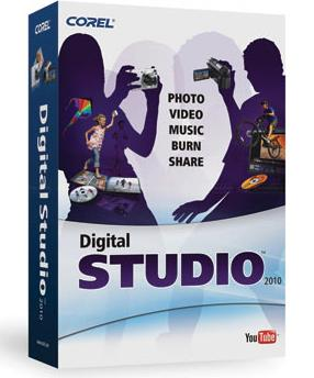 corel digital studio 2010 box