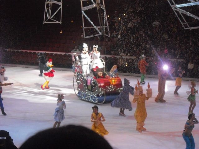 disney on ice sleigh