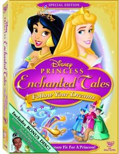 disney princesses follow your dreams dvd cover