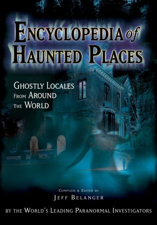encyclopedia haunted places cover