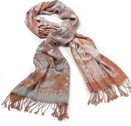 ford cares woven scarf