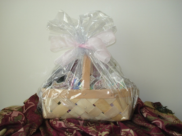 ford warriors in pink gift basket