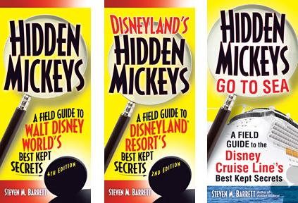 hidden mickeys book covers