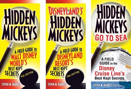 hidden mickeys book covers