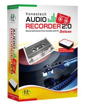 honestech audio recorder 2.0 deluxe box