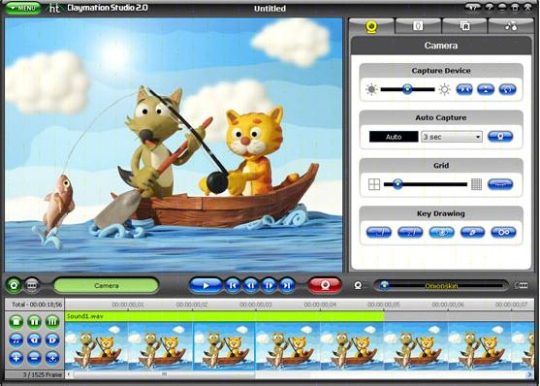 honestech claymation studio 2.0 screenshot