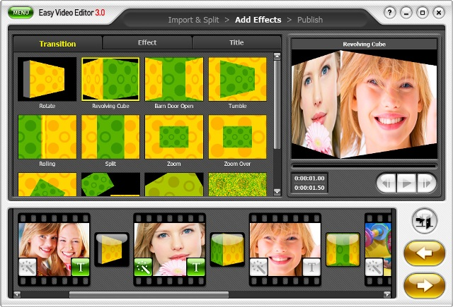 honestech easy video editor 3.0 screenshot