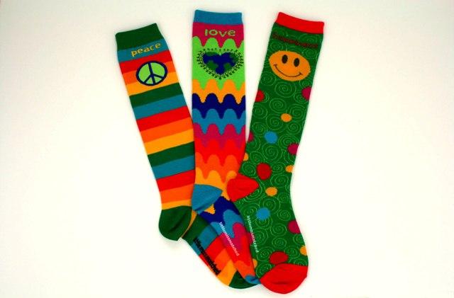 littlemissmatched kneehi socks