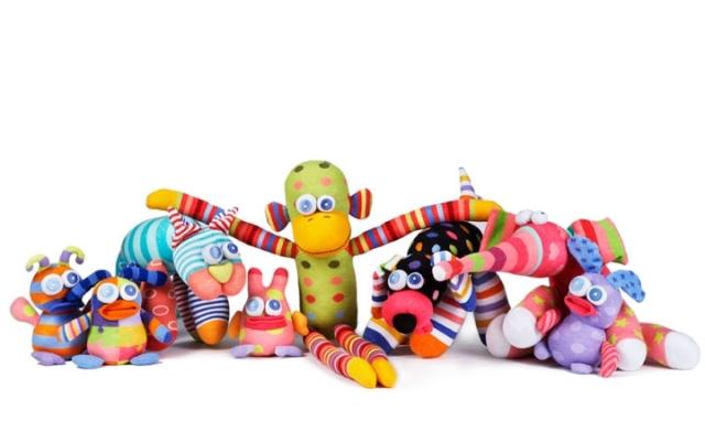 littlemissmatched sock dolls