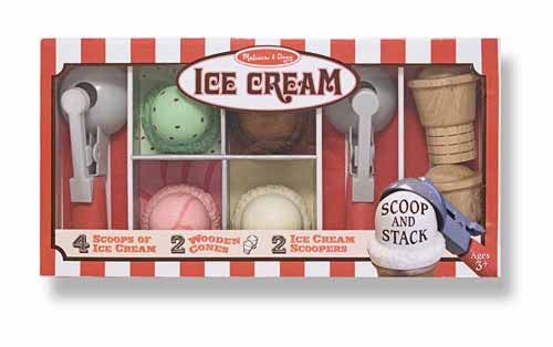 melissa & doug ice cream parlor set