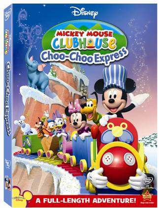 mickey mouse clubhouse choo choo express dvd cover