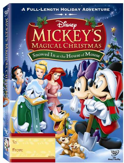 mickeys magical christmas dvd cover