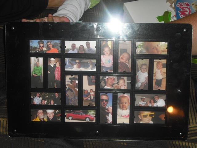 moo mosaic frame