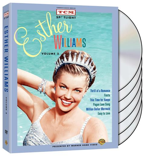 tcm esther williams vol 2 cover