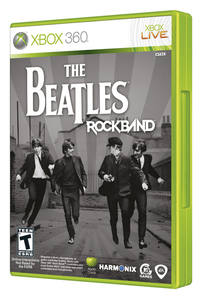 the beatles rock band box