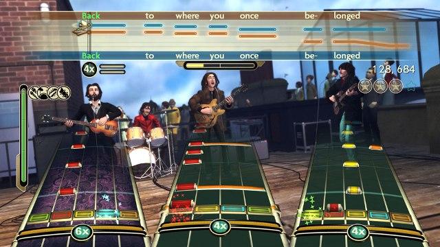 the beatles rock band screenshot 1