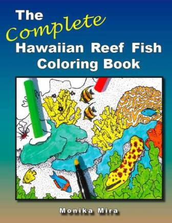 the complete hawaiian reef coloring book