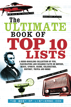 the ultimate book of top ten lists cover