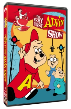 the very first alvin show dvd cover