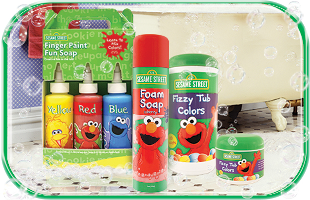The Village Company Sesame Street Bath Products