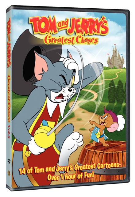 tom jerry greatest chases season 3 dvd cover