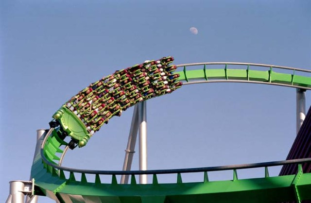 universal studios florida incredible hulk coaster