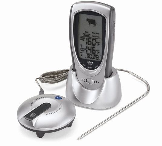 weber audible meat thermometer 6439a