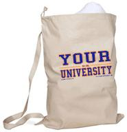 your name university laundry bag