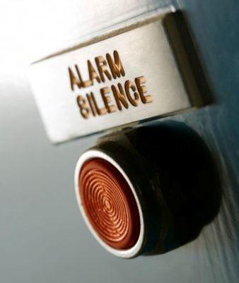 silent alarm button