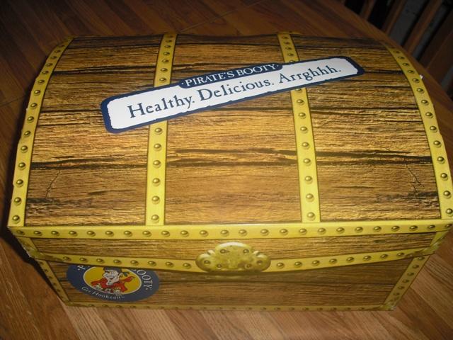 pirates booty treasure chest