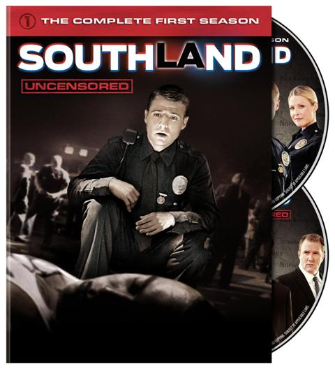 southland first season dvd cover