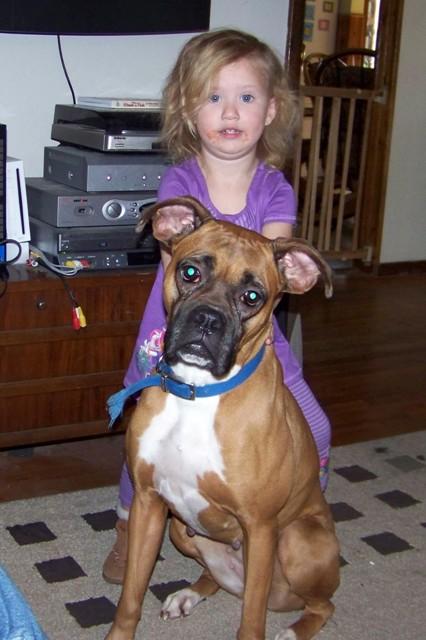 ww mommy says that i am afraid of big dogs