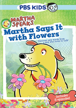 martha speaks martha says it with flowers dvd cover