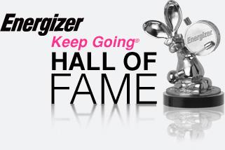 energizer hall of fame trophy